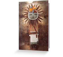 Sun Kachina Greeting Card
