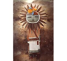Sun Kachina Photographic Print