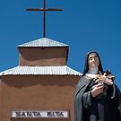 Santa Rita at the Santa Rita Church, Riley, NM by Mitchell Tillison