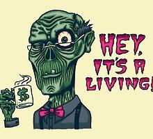 Zombie Work by SteveOramA