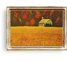 """""""Mountain Autumn"""" ... with a canvas and framed presentation for prints Canvas Print"""