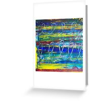 Elemental - Abstract Artwork by Holly Cannell Greeting Card