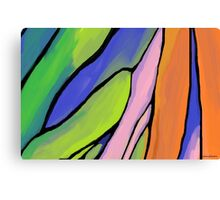 Abstract Fingers of Dawn Canvas Print