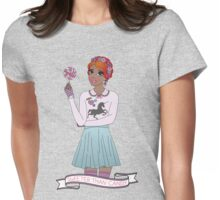 Sweeter Than Candy Womens Fitted T-Shirt