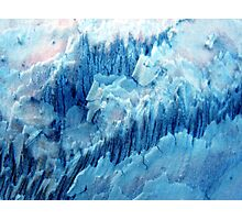 Glacial Fissures Photographic Print