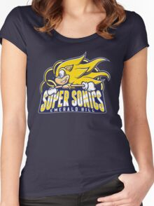 Super Sonics Women's Fitted Scoop T-Shirt