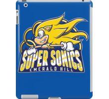 Super Sonics iPad Case/Skin