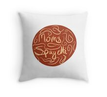 Eminem-moms spaghetti  Throw Pillow