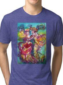 CARNIVAL DANCE Venetian Masquerade Ball Tri-blend T-Shirt
