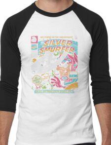 Silver Smurfer Men's Baseball ¾ T-Shirt