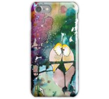 when we are together iPhone Case/Skin