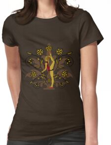 Sport series - young gymnast  Womens Fitted T-Shirt