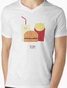 Fast Food Mens V-Neck T-Shirt