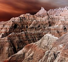 Badlands National Park .3 by Alex Preiss