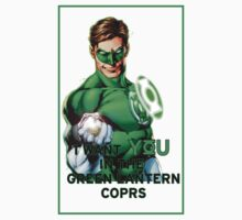 I Want You in the Green Lantern Corps  Kids Clothes