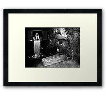 The Last Plea Framed Print