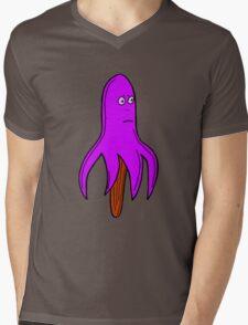 PURPLE FLAVOUR OCTOLOLLY Mens V-Neck T-Shirt