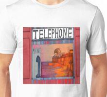 Its Good to Talk -Phone Box Brighton Pier Unisex T-Shirt