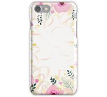 Border floral iPhone Case/Skin