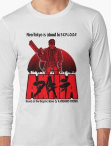 Neo Tokyo is about to EXPLODE Long Sleeve T-Shirt