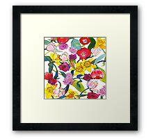 Tulips & Daffodils Framed Print