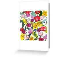 Tulips & Daffodils Greeting Card