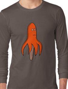 ORANGE FLAVOUR OCTOLOLLY Long Sleeve T-Shirt