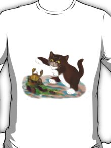 Touché says kitten to the Crab T-Shirt