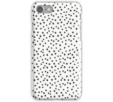 Black Dot Invasion iPhone Case/Skin