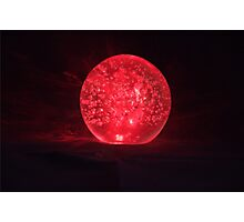 Red Bubble Photographic Print