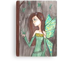Maiden Fairy enchanted forest Canvas Print