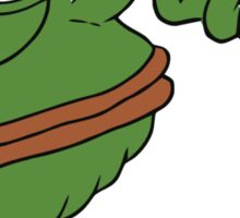 crying pepe the frog meme Sticker
