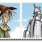 Wizard of Oz: Stamp Collection by MaryKatC