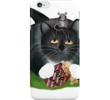 Please, share with me?, asks mouse politely. iPhone Case/Skin