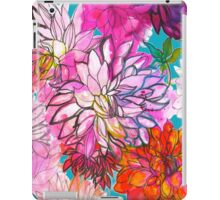 Garden of Dahlias iPad Case/Skin