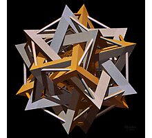 'Dodeca-Star' Photographic Print