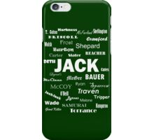 Get JACK! iPhone Case/Skin