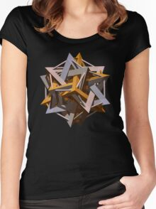 'Doceca-Star' Women's Fitted Scoop T-Shirt