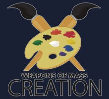 Weapons of mass creation - Blue Kids Clothes