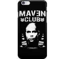 MAVEN CLUB - #LOWBLOWS iPhone Case/Skin