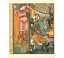 Princess Belle-Etoille 1909 Walter Crane 22 - The Return Photographic Print
