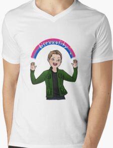 Bisexual Dean Winchester Mens V-Neck T-Shirt