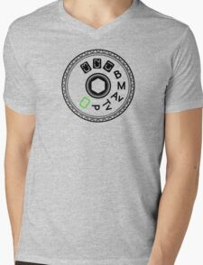 Picture Dial Mens V-Neck T-Shirt