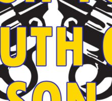 Wash Your Mouth Out, Son! Leeds United Sticker