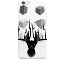 Bone and Wood (for light materials) iPhone Case/Skin