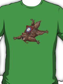 Phil Groundhog Superhero  T-Shirt