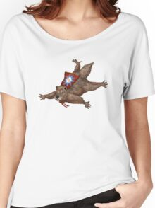 Phil Groundhog Superhero  Women's Relaxed Fit T-Shirt
