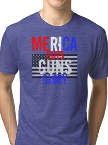 Merica Tri-blend T-Shirt