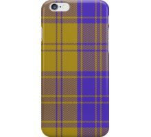 00495 MacLachlan Blue (Chief's Dress) Tartan  iPhone Case/Skin