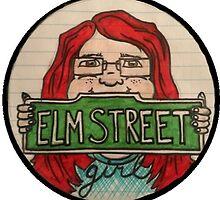 Elm Street Girl Logo by deviousfate